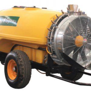Aspersora Agrícola Para Tractor de Turbina de Precisión 2000 L.