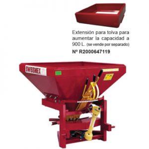 Fertilizadora de Precisión Esparcidora AMAZONA 600