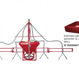 Fertilizadora de Precisión Especial para 5 Surcos